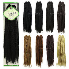 Anytime Senegalese LOOP TWIST Pre-Twisted Braids 100% Kanekalon Synthetic Hairs