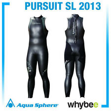 SALE! AQUA SPHERE 2013 PURSUIT SL SHORT SLEEVE TRIATHLON SUIT WETSUIT RRP £150!