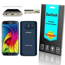 ZenTech FULL BODY Curved Tempered Glass Screen Protector Samsung Galaxy S6 Edge