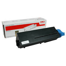 BRAND NEW GENUINE OKI 44574702 BLACK LASER PRINTER TONER CARTRIDGE