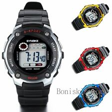 Multifunction Sport Electronic Digital Alarm Wrist Watch For Boy Girl Student