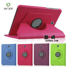 """UI PU Holder Leather 360 Case Cover For 8"""" Samsung Galaxy Tab S2 T710 T715C"""