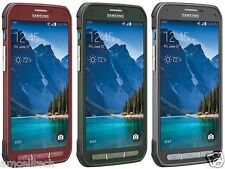 """NEW"" Samsung Galaxy S5 Active SM-G870A AT&T UNLOCKED LTE 16GB - Gray Green Red"