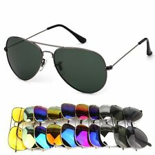 Retro Women Mens UV400 Fashion Glasses Aviator Driving Sunglasses Shades Eyewear