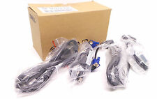 Lot of 2 DELL CABLE KIT 6' DVI, 6' SVGA, 6' USB Male A to Male B, 6' POWER CORD