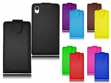 Premium Magnetic Wallet Flip Leather PU Case Cover Holder For Sony Xperia M4 UK