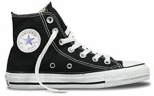 CONVERSE CHUCK TAYLOR ALL STAR Hi BLACK UNISEX CASUAL SNEAKERS MENS WOMENS SHOES