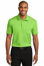 Port Authority Mens Silk Touch Dri-Fit Pocket Polo Shirt NEW S-4XL GOLF K540P