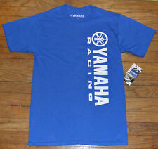 Yamaha Racing Logoed Mens T-Shirt Authentic Tee Motorcycle Motocross