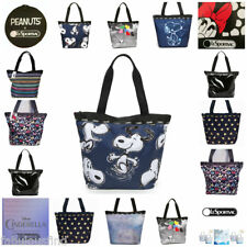 LeSportsac Minnie Mouse Cinderella Snoopy Hailey Tote Bag Assorted Patterns NWT