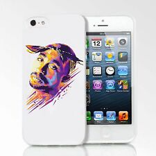 Tupac 2Pac 2 Hip Hop Music Rapper Club Case Cover For Apple iPhone 5/5S/6/6 Plus