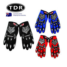 Adult Racing MX Motorcross Riding 2015 gloves adult BLACK RED BLUE cheap special
