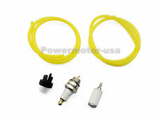 2FT Fuel Lines +Primer Bulb +Fuel Filter +Spark Plug For Poulan Sears Echo New