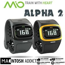 MIO Alpha 2 Strapless Heart Rate Monitor Sport Watch | Bluetooth 4.0 App Sync