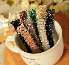 Women Headwear Crystal Rhinestone Hair Clip Barrette Hairpin Hair Accessory