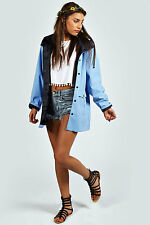 ♥BOOHOO FESTIVAL WATERPROOF RAIN MAC JACKET SIZE 8 10 12 14  ♥