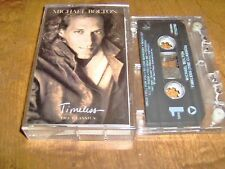 "MICHAEL BOLTON - ""TIMELESS THE CLASSICS"" CASSETTE TAPE - 1992 - VERY GOOD COND."