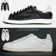Mens Shoes Street Fashion Low Top Lace Up Faux Leather Sneakers 710, GENTLERSHOP