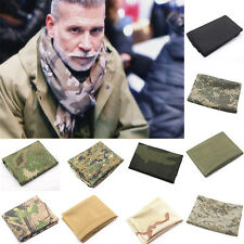 Camouflage Scarf Face Sniper Cover Mesh Airsoft Tactical Army Neckerchief Wrap