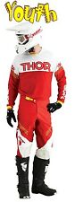 THOR Phase Kit YOUTH HYPERION RED WHITE 2016 MOTOCROSS ENDURO JERSEY & PANT