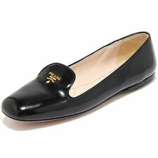 8474I PRADA scarpa donna mocassino shoes loafer nero