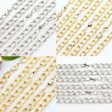 1/10Pcs Unisex  Gold White K Plated Alloy Elegant Chains DIY Finding Gift Sale