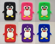 """Penguin Silicone Case Cover For Samsung Galaxy Tab 2/3 7.0"""" P3100 P3200 P6200"""