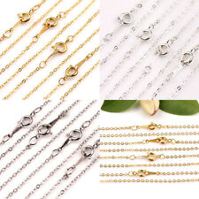5/10Pcs White K/Silver/Golden Aluminum Open Link Stylish Chains DIY Gift Finding