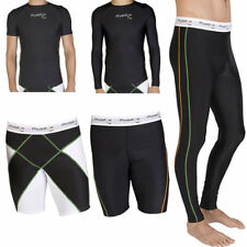 Mens Compression Wear - Under Thermal Base Layer, Top, Shorts, Tights Pants