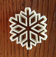 Snow Flake cookie and fondant cutter - US SELLER!!