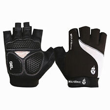 one pair BLACK wolfbike cycling bike gloves Polyester,Lycra road mountain use