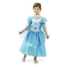 Luxury 'FROZEN INSPIRED' Kids Girls Princess Queen Elsa Dress Costume (3-8yrs)