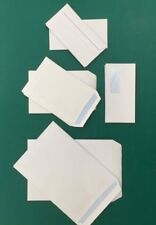 High Quality White Self Seal Envelopes PLAIN and Window DL, C5 and C4 90gsm S...
