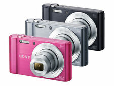 Sony CyberShot DSC-W810 20.1MP Digital Camera 3colors 6x Optical Zoom HD EMS F/S