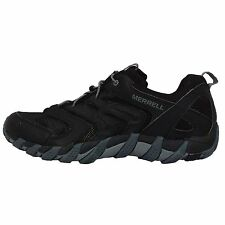 Merrell Waterpro Gauley 2 Black Grey Vibram Mens Outdoors Hiking Shoes ML65201