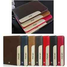 for Apple iPad 2 3 4 Air/2 mini Pro Leather Ultra Thin Smart Stand Case Cover
