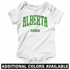 Alberta Represent One Piece - Calgary CA Baby Infant Creeper Romper - NB to 24M
