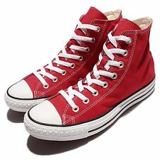 Converse Chuck Taylor All Star Red White Classic Casual Shoes Plimsolls M9621C