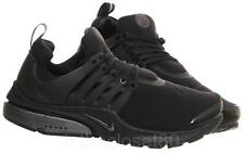 Nike Air Presto QS Triple Black Tech Fleece Pack Mens Trainers 812307 001