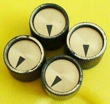 VINTAGE MID 1960'S KAY GUITAR BASS KNOB SET USA NEW OLD STOCK CONDITION (KK)