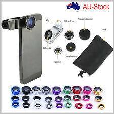 3 in 1 Quick Camera Lens Kit Fish Eye Wide Angle Macro iPhone 6 4S 5 5s 6s plus