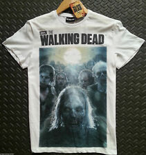 Walking Dead Primark T Shirt Zombie Mens White Sizes M-XL NEW Official Licensed