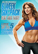 Jillian Michaels - Six Week Six-Pack (DVD, 2010) New & Sealed