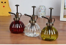 Retro Plant Home Garden Plants Flower Watering Can Glass Bottle Spary 3 Colors