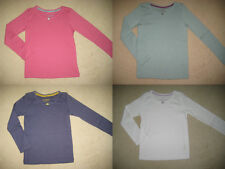 Mini Boden Pretty T shirt Top 1.5-12 years 5 colours long sleeve rose cotton