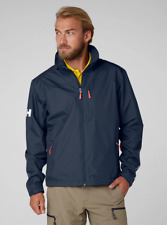 Helly Hansen Crew Midlayer Fleece Lined Waterproof Jacket 30253/597 Navy NEW