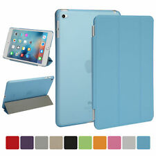 For New Apple iPad Mini 4 2015 Case Cover Ultra Slim Stand Hard Back Shell Case