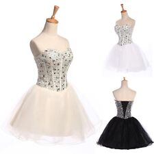 Short Mini Masquerade Homecoming Dress Beaded Cocktail Prom Party Gown Dresses