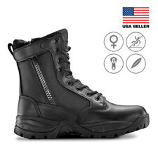 Maelstrom® TAC FORCE 8'' Women's Tactical Police Duty Military Boots with Zipper