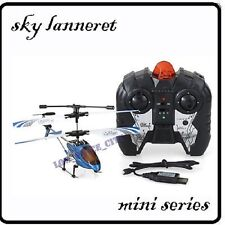 RC Mini Remote 3.5CH Metal Helicopter 3CH + Gyro